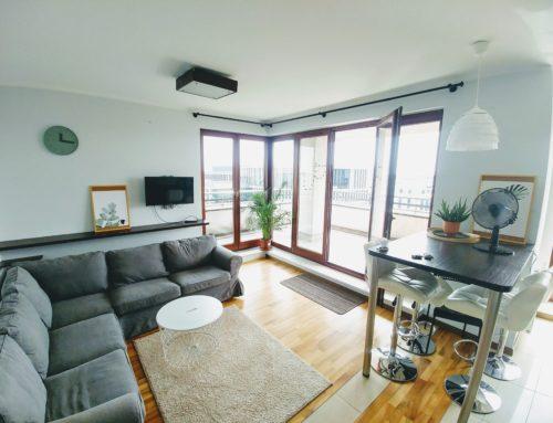 7 piętro, 3 pok., 70 m2+30 m2 taras, ul. Bobrowiecka